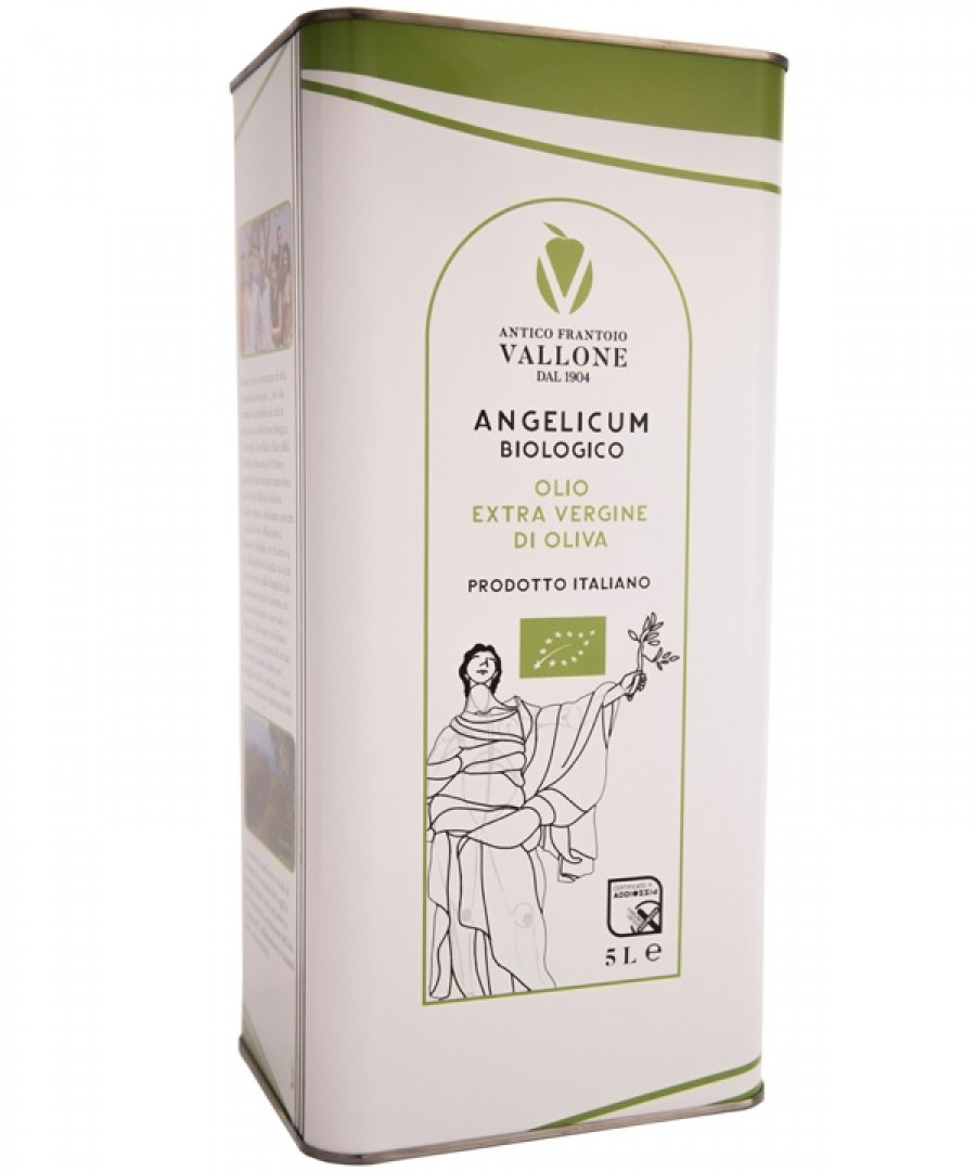 Lattina Olio Extra Vergine di Oliva Angelicum Biologico Superiore 5L